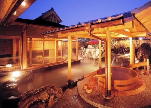 日本の温泉を楽しむプラン
